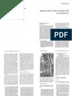 Algunas notas sobre el análisis del conocimientoGandara 1990 AnalisisConocim