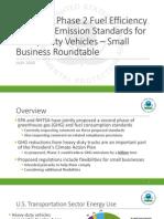 Heavy-Duty Phase 2 GHG NPRM Overview for SBA Roundtable  EPA Presentation July 29 2015.pdf