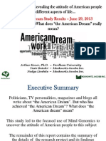 The American Dream - Arthur Kover Ph.D., Yasir Batalvi - MJI