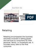 Retail Marketing 1