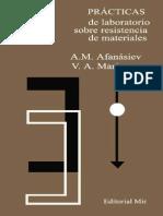 Afanasiev A M - Practicas De Laboratorio Sobre Resistencia De Materiales.pdf