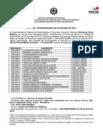 136 Convocacao Matriclkula Do Concurso Publico Policia Militar Oficial de Saude 1º Tenente (1)