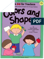 Apples for Teachers - Colors and Shapes