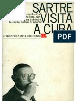 Jean Paul Sartre Sartre Visita a Cuba
