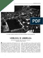 Ljubljana iz aeroplana