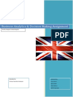 Business Analytics Assignment