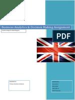 Business Analytics Assignment