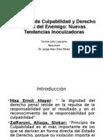 Principio de Culpabilidad y Derecho Penal del Enemigo.ppt