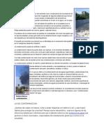 La Contaminación Es El Deterioro Del Ambiente Como Consecuencia de La Presencia de Sustancias Perjudiciales o Del Aumento Exagerado de Algunas Sustancias Que Forman Parte Del Medio