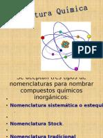 Nomenclatura Quimica de los compuestos inorganicos