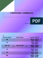 i Pronomi Combinati Calusac Corso 6
