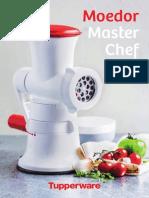 Moedor Master Chef - Guia de Receitas