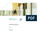 Intel IEC Project abstract
