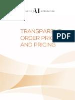 TransparentOrderPriorityPricing Aesthetic
