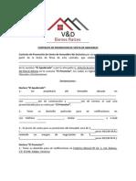 No ExclusNO EXCLUSIVA CONTRATO DE PROMOCION DE VENTA DE INMUEBLESiva Contrato de Promocion de Venta de Inmuebles