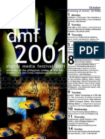 DMF Digital Media Festival 2001 Program