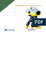 Stonex D2  manual de usuario