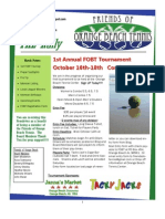 FOBT Newsletter OCt 2009