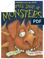 The Little Shop of Monsters by R.L. Stine and Marc Brown (PREVIEW)
