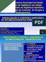 - Fiscalização e Controle Sanitário- Dcdm