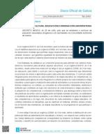 DOG Decreto Currículo 2015