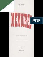 Memoires per Guy Debord