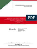 Evaluación de Escalas Diagnósticas en Pacientes Con Dolor Abdominal Sugestivo de Apendicitis