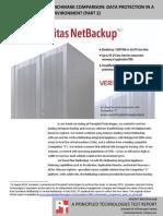 Veritas NetBackup benchmark comparison