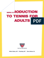 Introduction to Tennnis for Adults 3 - 0216.11