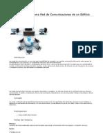 Proyecto de sistema de comunicaciones de una red en edificio