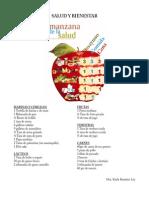 Manzana de la salud