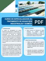 Brochure de Tratamiento de Aguas Residuales, Industriales y Domesticas