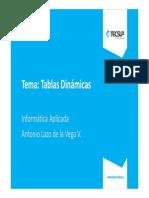 11 Excel - Tablas Dinámicas