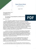 DOL COI Regs Letter 080715