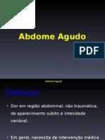 Abdomen Agudo