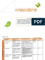 Plan Noviembre 2014 Citlalli