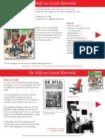Terugblikken - De Stijl en Gerrit Rietveld - Lesbrief
