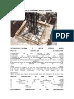 Proceso Constructivo de Una Zapata Aislada y Corrida