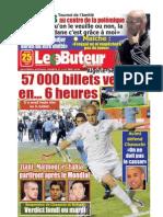 LE BUTEUR PDF du 25/02/2010