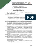 Reglamento de Admision General Agosto -2015