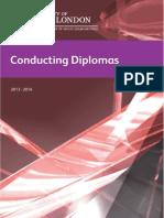 Conducting Diplomas