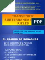 Equipo de Transporte Sobre Rieles y Limpieza 2010.II