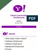 IanFlint YahooCommunitiesArchitecture