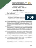 Reglamento Enero 2015