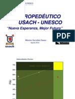 Máximo González Sasso - Propedeutico Usach-Unesco
