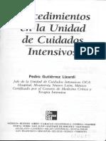 Procedimientos en La Unidad de Cuidados Intensivos - Pedro Lizardi