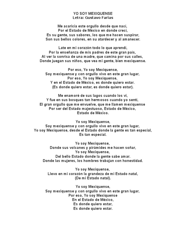 El gran yo soy letras - El Gran Yo Soy Letras 7