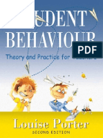 Student Behaviour Theory and Practice for Teachers