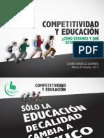 Competitividad y Educación en México