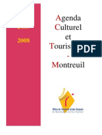 Agenda culturel et touristique de Montreuil de mai et juin 2008